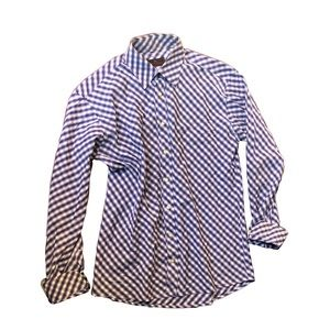 Men's Etro Plaid Button up Dress Shirt size 41